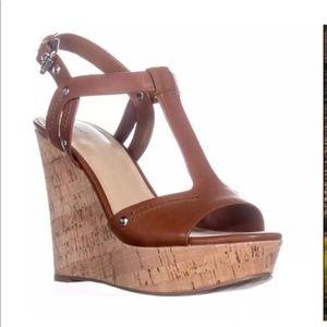 Marc Fisher Women's Helma Wedge Sandals